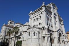 A catedral de Monaco fotos de stock