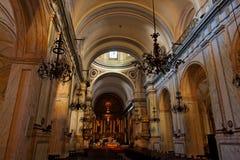 Catedral de Montevideo Foto de archivo