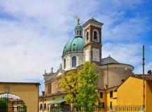 Catedral de Montichiari Fotos de Stock