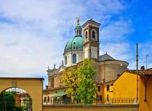 Catedral de Montichiari Imagem de Stock Royalty Free