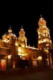 Catedral de Morelia III Imagem de Stock