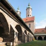 Catedral de Naumburg, Sajonia-Anhalt, Alemania Imagen de archivo