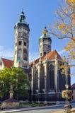 Catedral de Naumburger, Alemanha Imagem de Stock Royalty Free