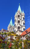 Catedral de Naumburger, Alemanha Imagem de Stock
