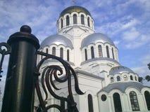 Catedral de Nevsky, Kamenets-Podolskiy, Ucrania Fotos de archivo libres de regalías