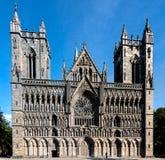 Catedral de Nidaros Imágenes de archivo libres de regalías