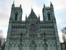 Catedral de Nidaros/Nidarosdomen, Trondheim, Noruega Fotografia de Stock