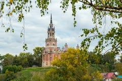 Catedral de Nikolskiy en Mozhaisk, Rusia Imagen de archivo libre de regalías