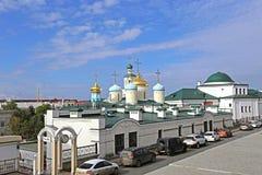 Catedral de Nikolsky en Kazán Foto de archivo libre de regalías