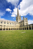 Catedral de Norwich Foto de Stock