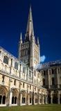 Catedral de Norwich imagens de stock