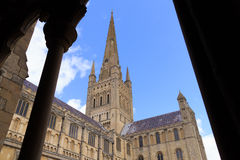 Catedral de Norwich Imagen de archivo