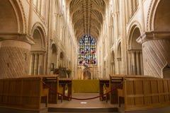 Catedral de Norwich Imágenes de archivo libres de regalías