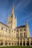 Catedral de Norwich Imagen de archivo libre de regalías