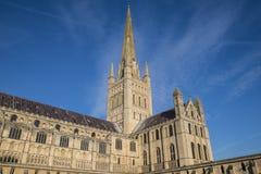 Catedral de Norwich Foto de archivo