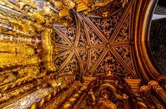 A catedral de nossa senhora da suposição em Funchal, ilha de Madeira, Portugal Imagem de Stock