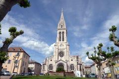 Catedral de nossa senhora da suposição em Gap, França fotos de stock