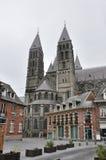 A catedral de nossa senhora em Tournai Fotografia de Stock Royalty Free