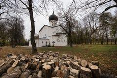 Catedral de nossa senhora Sovereign Fortaleza de Gdov imagem de stock royalty free