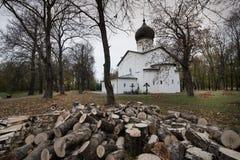 Catedral de nossa senhora Sovereign Fortaleza de Gdov foto de stock
