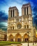 Catedral de Notre-Dame Imagen de archivo libre de regalías