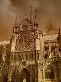 Catedral de Notre Dame imagen de archivo