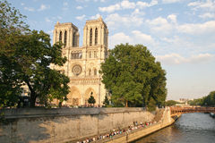 Catedral de Notre Dame Foto de Stock Royalty Free