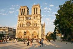 Catedral de Notre Dame Imagens de Stock