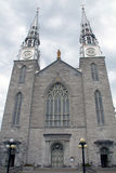 Catedral de Notre Dame fotos de archivo