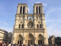 Catedral de Notre Dame Foto de archivo