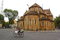 Catedral De Notre Dame De Ho Chi Minh, Vietnam Fotos de Stock Royalty Free