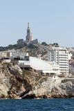 Catedral de Notre Dame de la Garde, Marsella Fotos de archivo libres de regalías