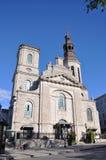 Catedral de Notre-Dame de Quebec Imagen de archivo libre de regalías