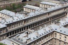 Catedral de Notre Dame do formulário de Paris Foto de Stock