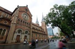 Catedral de Notre Dame em Ho Chi Minh Fotos de Stock Royalty Free