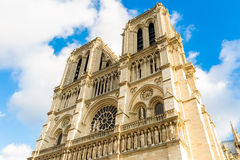 Catedral de Notre Dame em Paris, France Foto de Stock