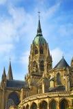 Catedral de Notre Dame en Bayeux, Francia Fotografía de archivo