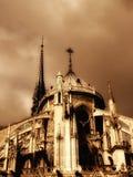 Catedral de Notre Dame en París fotos de archivo