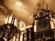 Catedral de Notre Dame en París imagen de archivo libre de regalías