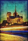 Catedral de Notre Dame en París Fotografía de archivo libre de regalías