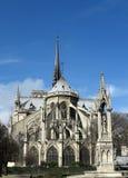 Notre Dame en París Foto de archivo libre de regalías
