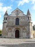 Catedral de Notre Dame en Poitiers Fotografía de archivo