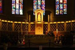Catedral de Notre Dame, Luxembourg Imagem de Stock