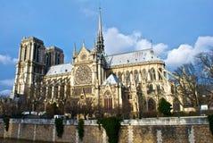 Catedral de Notre Dame, París Foto de archivo