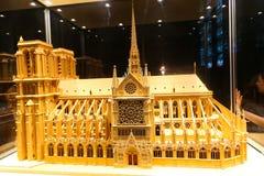 Catedral de Notre Dame - Paris Imagem de Stock