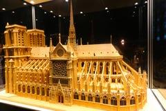 Catedral de Notre Dame - Paris Imagens de Stock