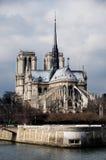 Catedral de Notre Dame. Paris, France Imagens de Stock