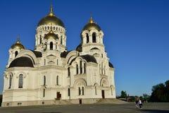 Catedral de Novocherkassk fotografía de archivo libre de regalías