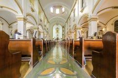 Catedral de Nuestra夫人de瓜达卢佩河,提华纳,墨西哥 免版税图库摄影