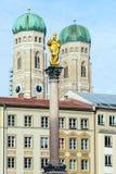Catedral de nuestra estimada señora, el Frauenkirche en la ciudad de Munich, Ger fotos de archivo libres de regalías
